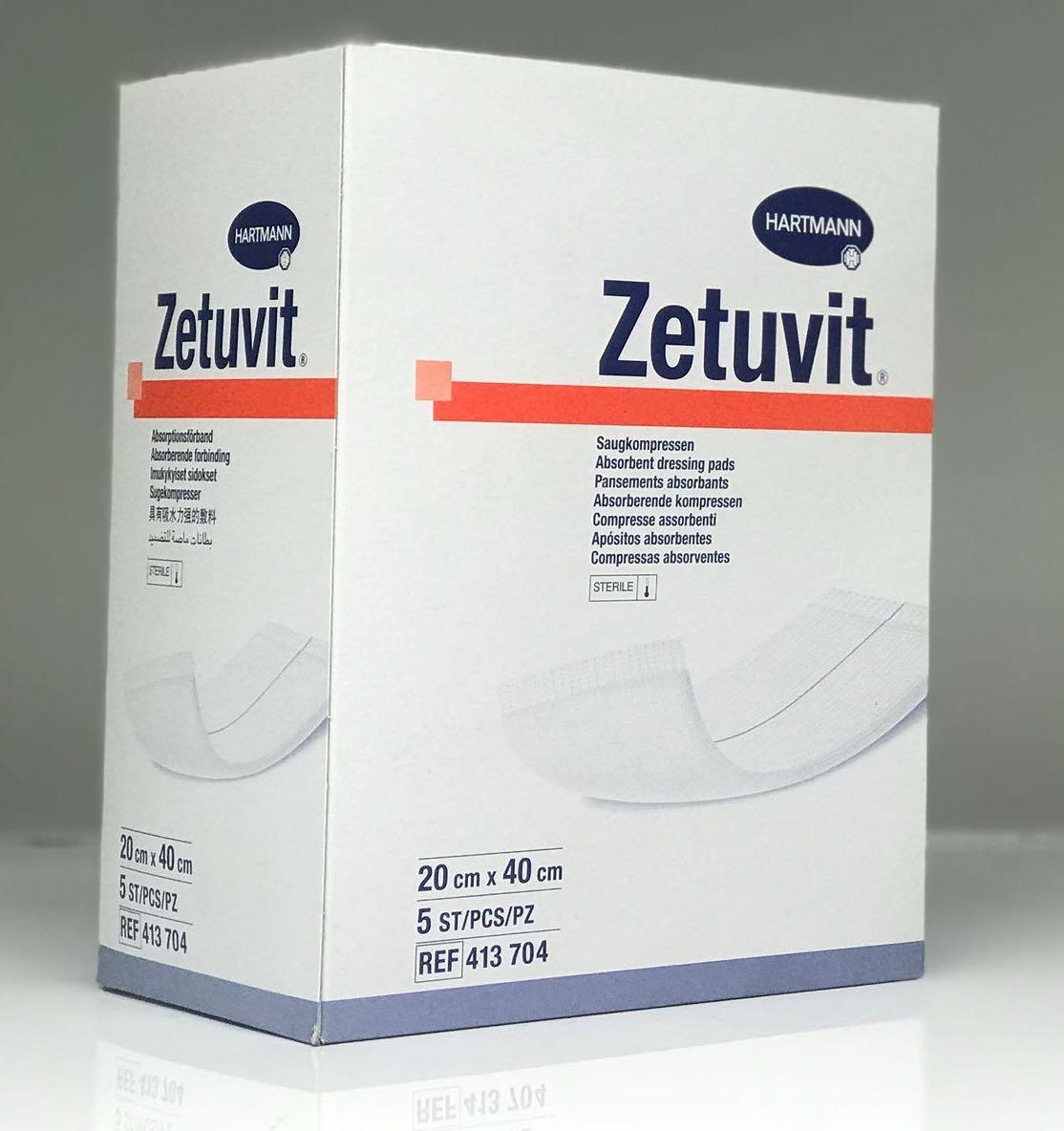 ZETUVIT 20CMx40CM, BOX 5