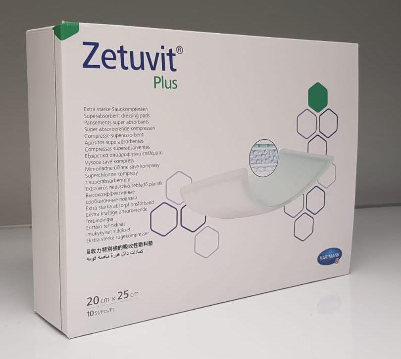 ZETUVIT PLUS 20CMx25CM BOX 10