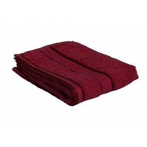 Face Towel 33x33cm (Burgundy), Each