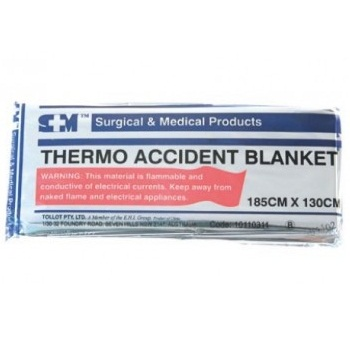 Thermal Blanket - Silver - Click to enlarge