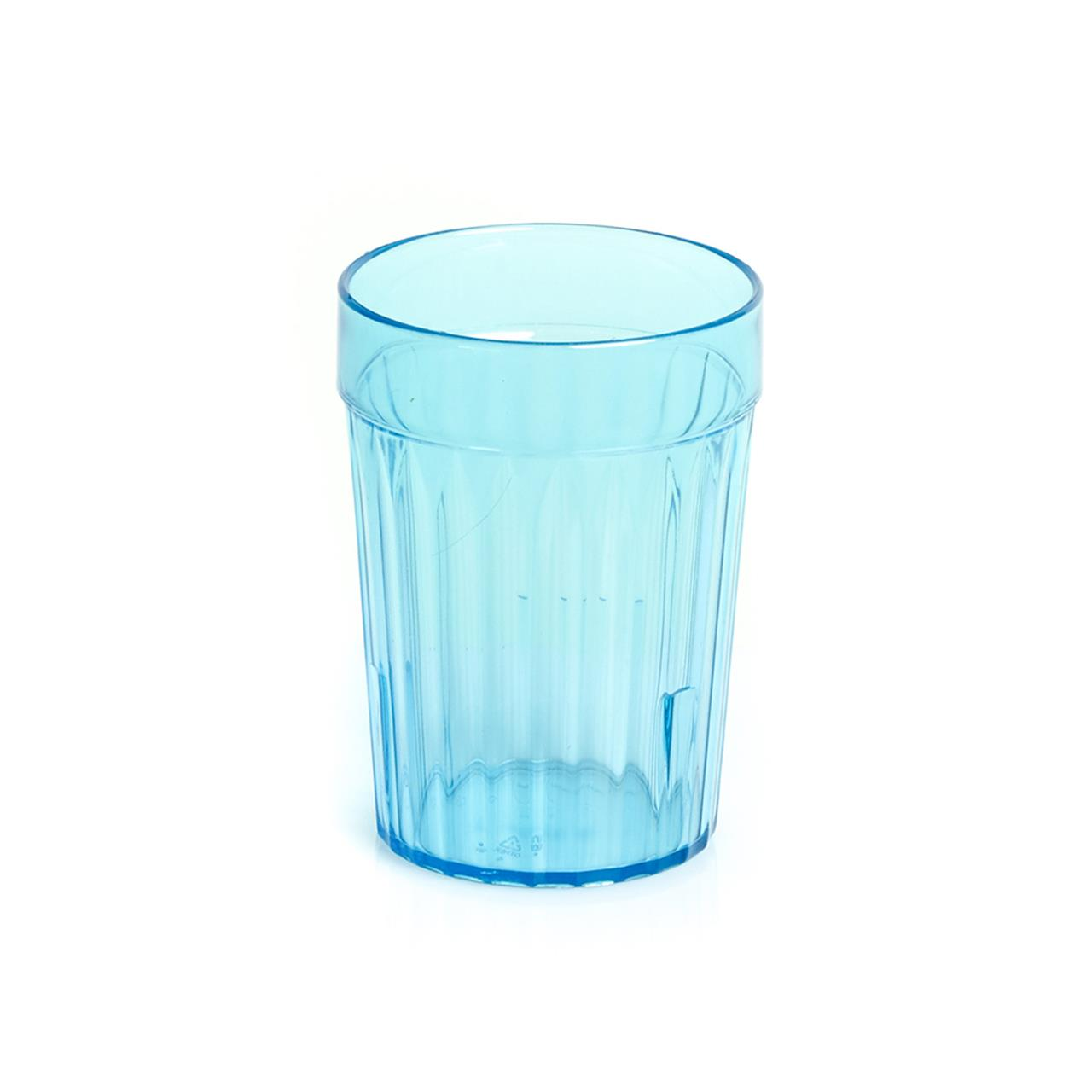 TUMBLER FEEDER CUP BLUE 230ML, EACH