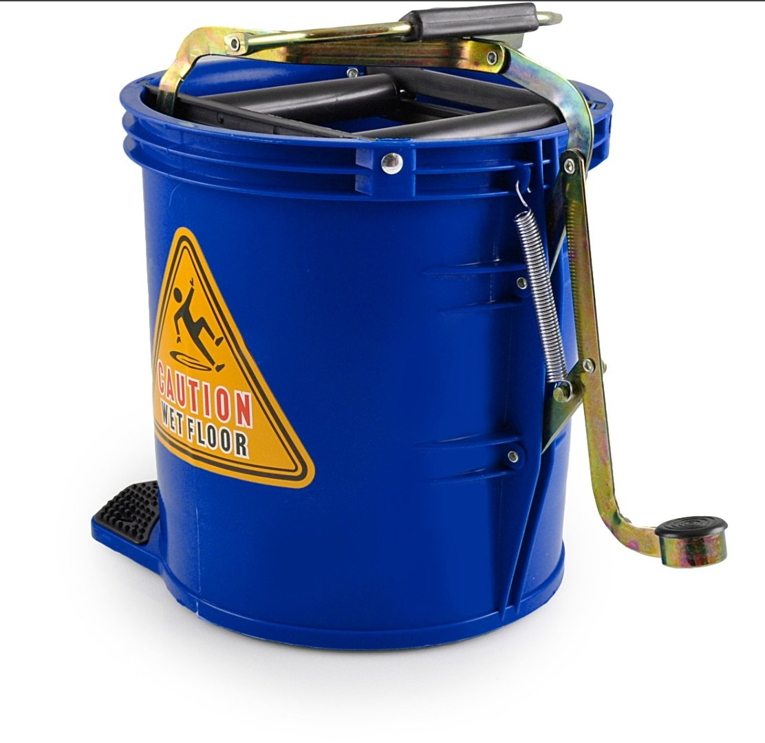 MOP BUCKET BLUE, EACH