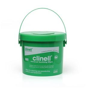 Clinell Sanitising Wipes Bucket 225's