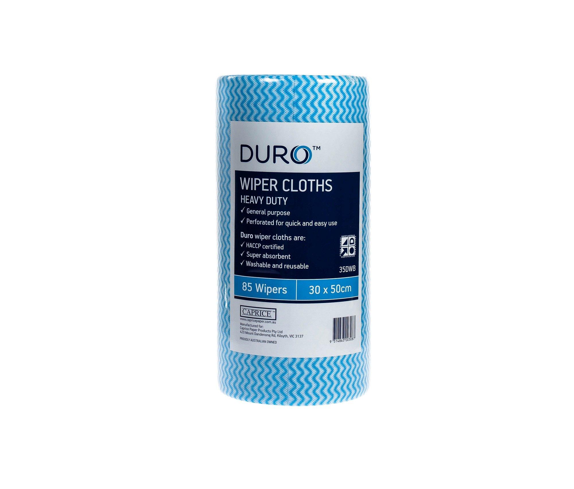 DURO WIPER ROLL HEAVY DUTY BLUE 50CMx30CM ROLL 85