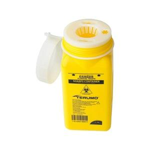 Disposable Sharps Container 1.4Lwith Screw Top