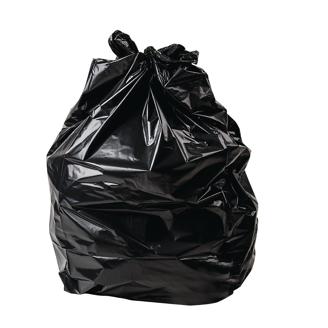 54L GARBAGE BAGS BLACK, BOX 250