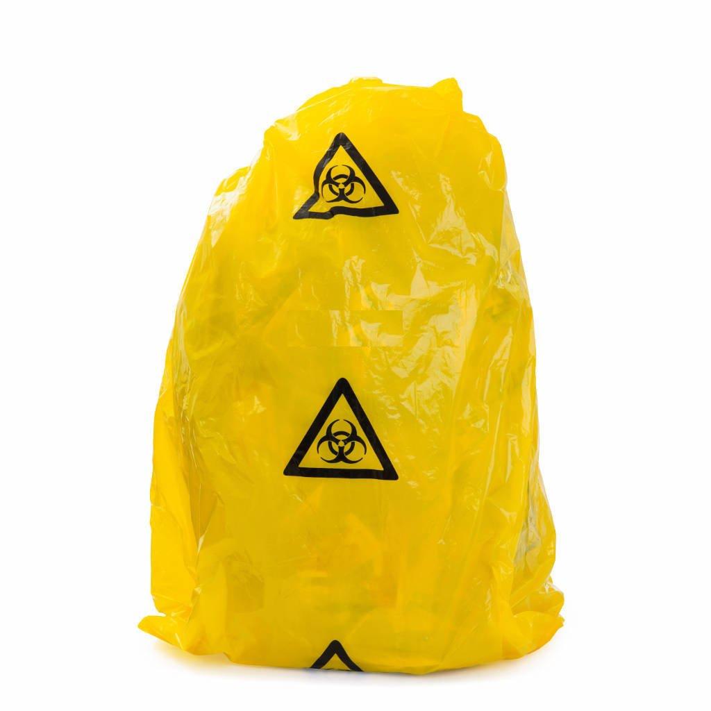 240L CLINICAL WASTE BAGS LD 150X60+58, CTN 100