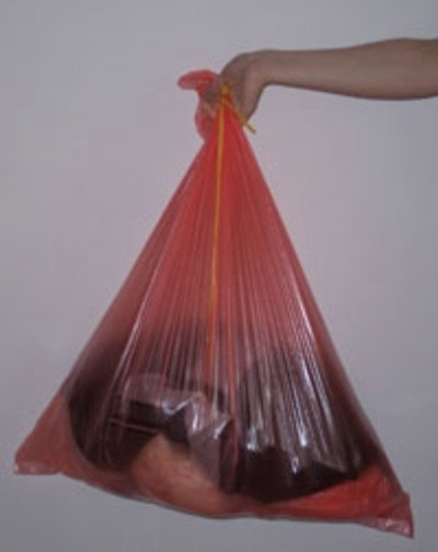 Red Fully Soluble Bag