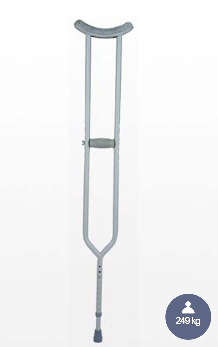 Crutches Underarm Bariatric Steel 249kg