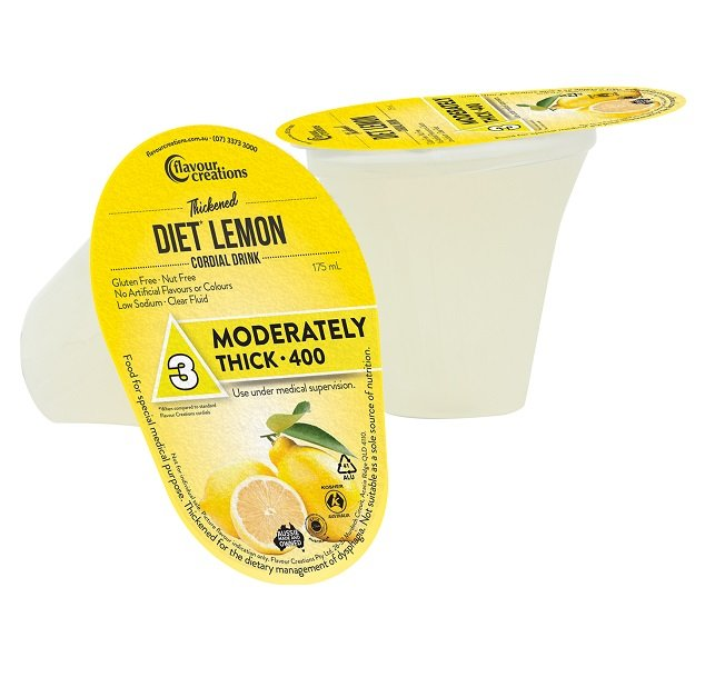 FLAVOUR CREATIONS DIET LEMON CORDIAL LEVEL 400, BOX 24