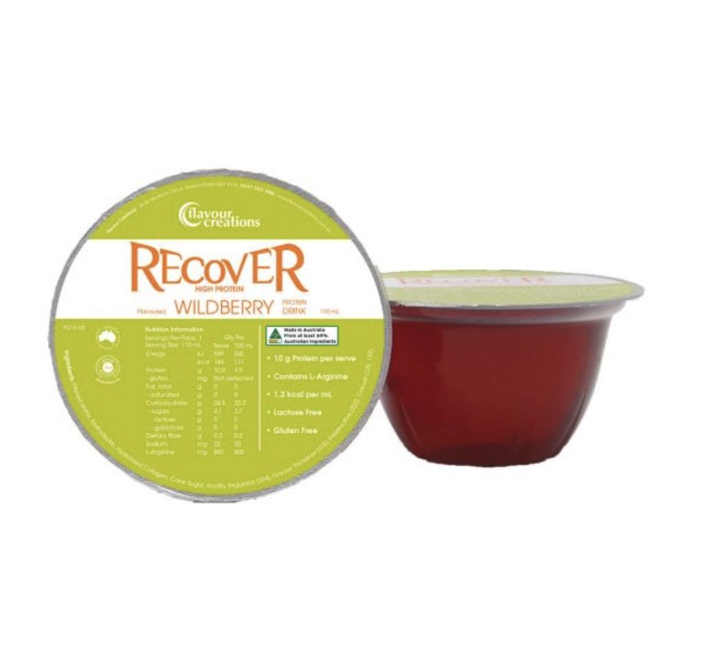 FLAVOUR CREATIONS RECOVER WILDBERRY 110ML BOX 36