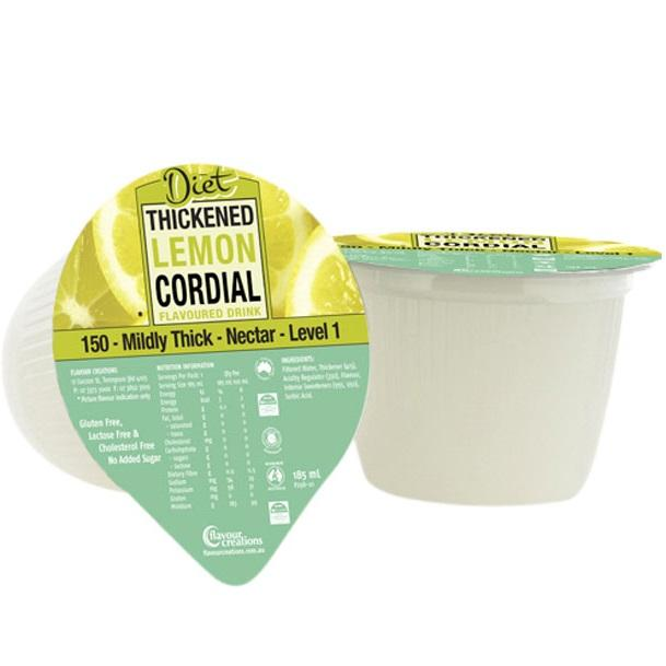 Flavour Creations Diet Lemon Cordial Level 1, Box 24