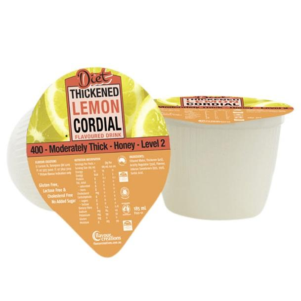 Flavour Creations Diet Lemon Cordial Level 2, Box 24