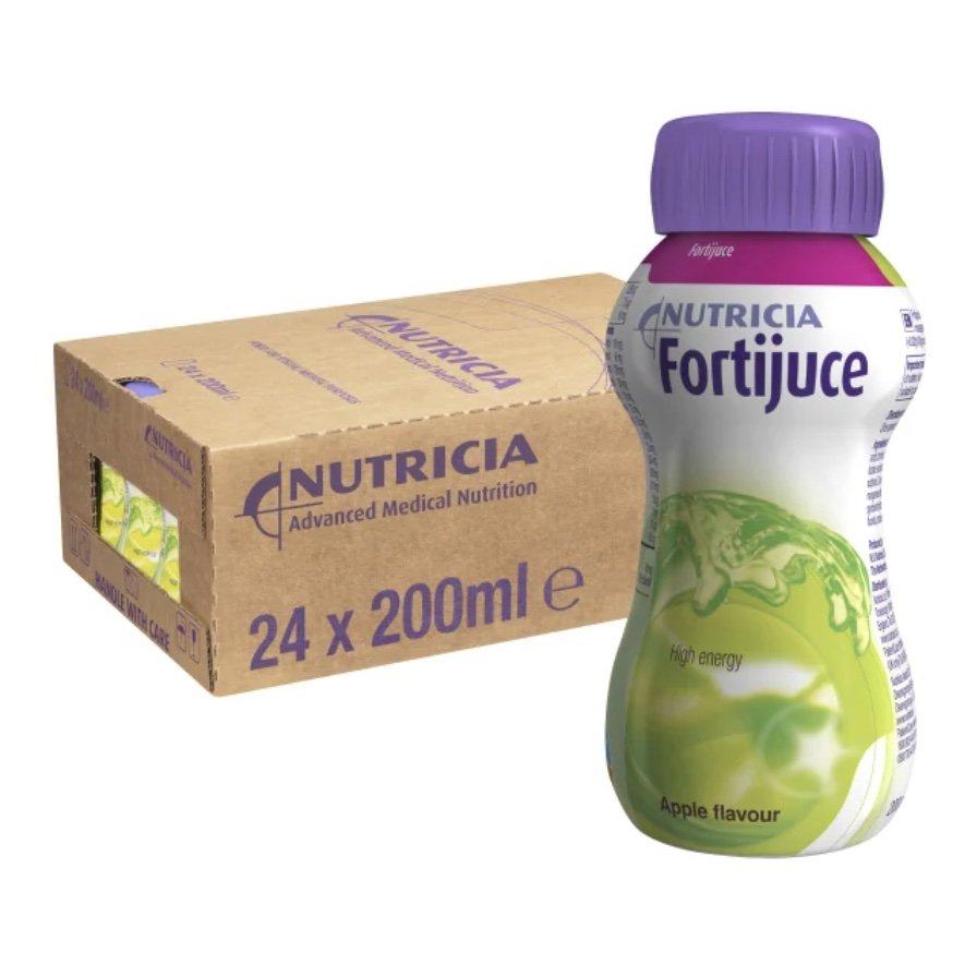 FORTIJUICE APPLE 200ML BOX 24