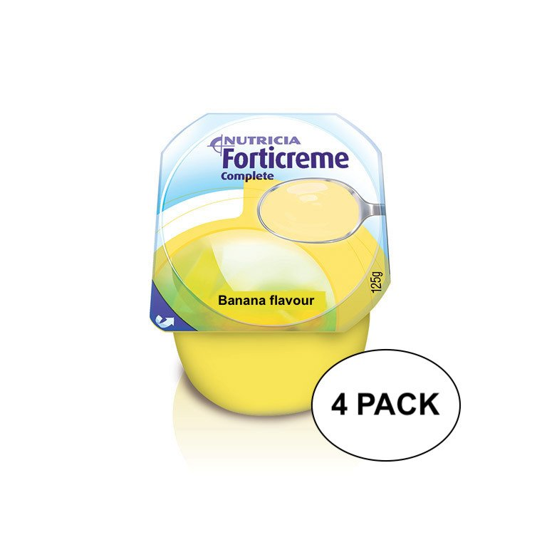 FORTICREME COMPLETE BANANA 125G, PKT 4