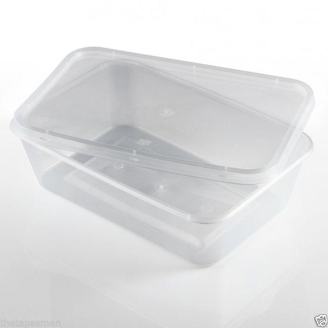 Disposable Food Container Lids, Box 500