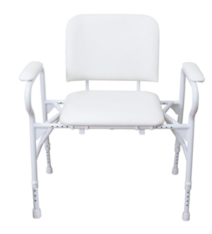 SHOWER CHAIR MAXI ADJUSTABLE 310KG, EACH
