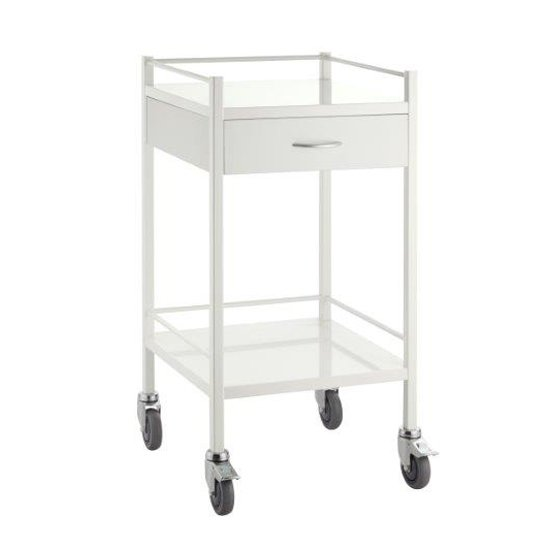 Dressing Trolley Powder Coat Steel 1 Draw, Each