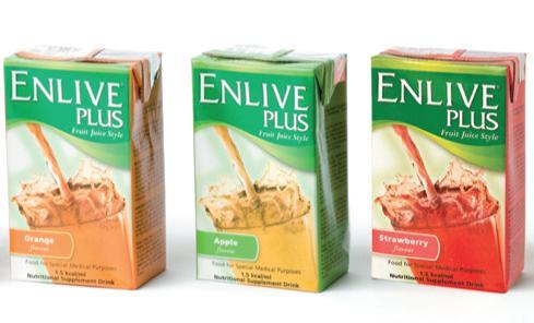 Enlive Plus Apple Tetra 220mL, Box 27