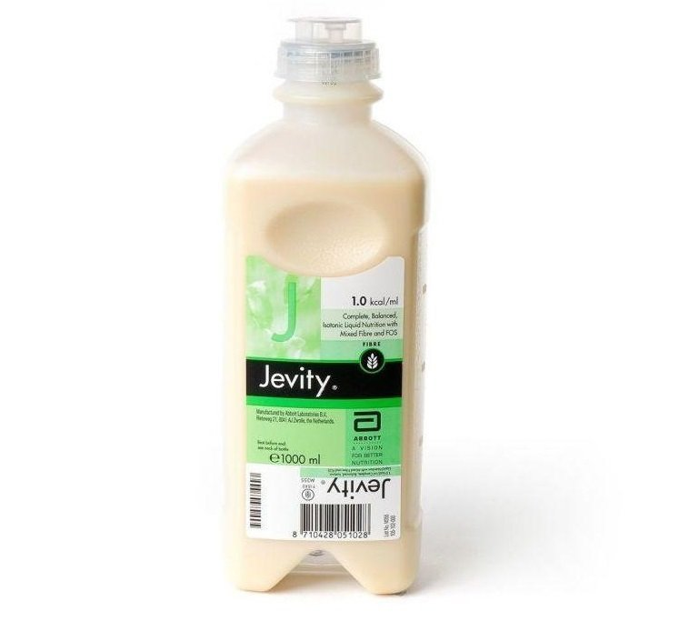 JEVITY PLUS FIBRE UNFLAVOURED 1000ML READY TO HANG, BOX 8