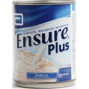 Ensure Plus Vanilla Liquid Can 237ml, Box 24
