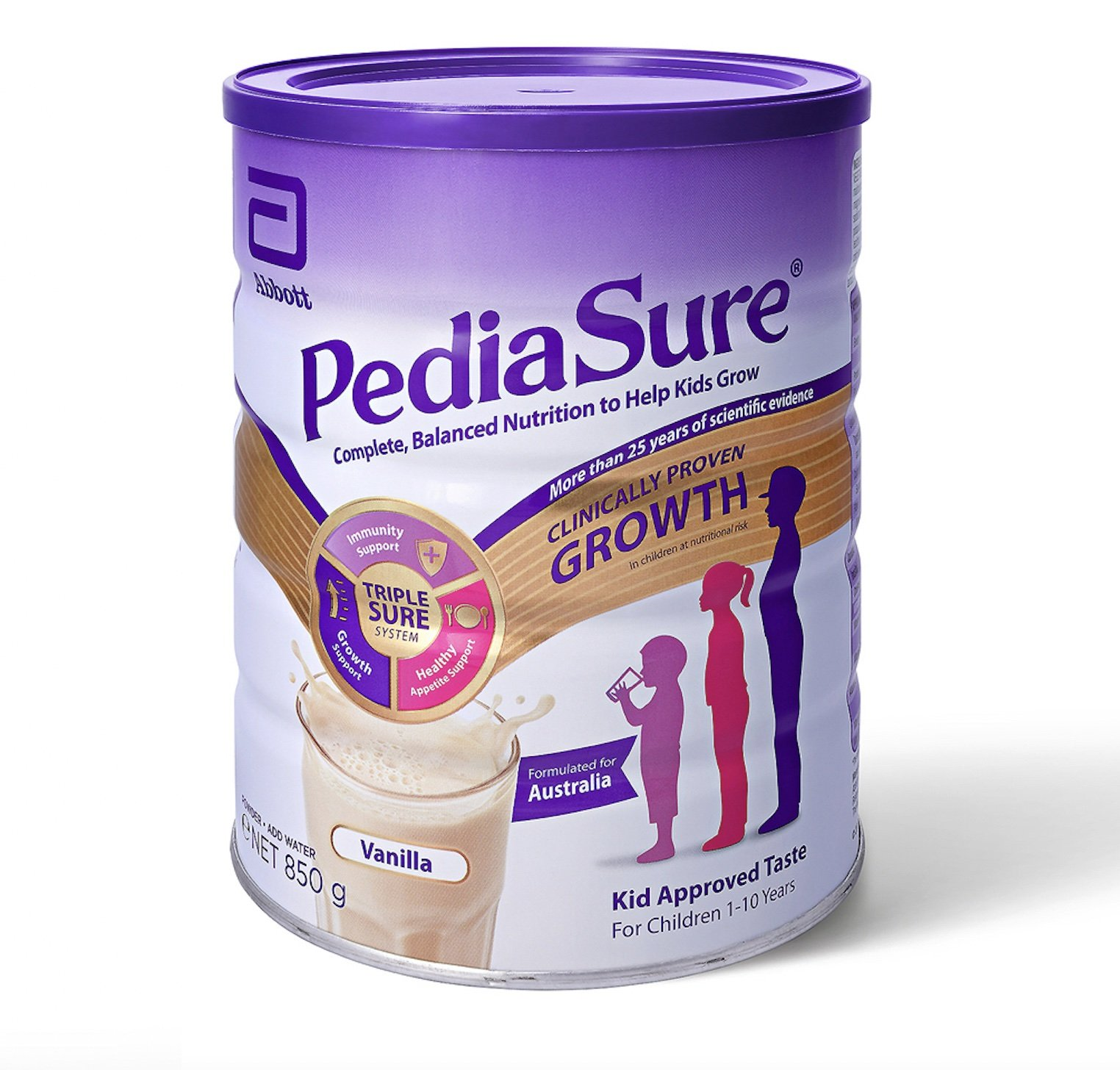 PEDIASURE POWDER VANILLA 850G EACH