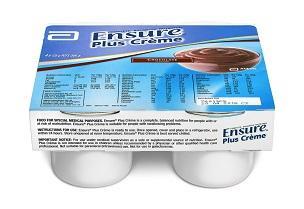 ENSURE PLUS CREME CHOCOLATE 125G, Pkt4