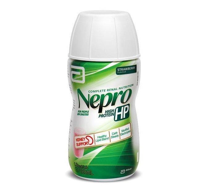 Nepro HP Strawberry 220ml Bottle, Pack 30