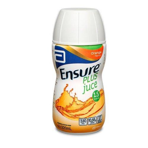 Ensure Plus Juice Orange Bottle 220ml, Box 30