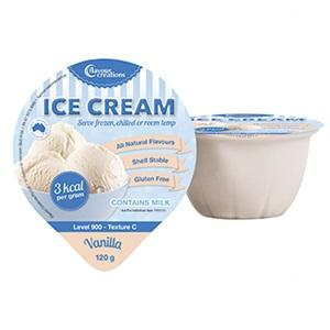 Ice Cream Vanilla 3K Cal/Gram 120g L900, Box36