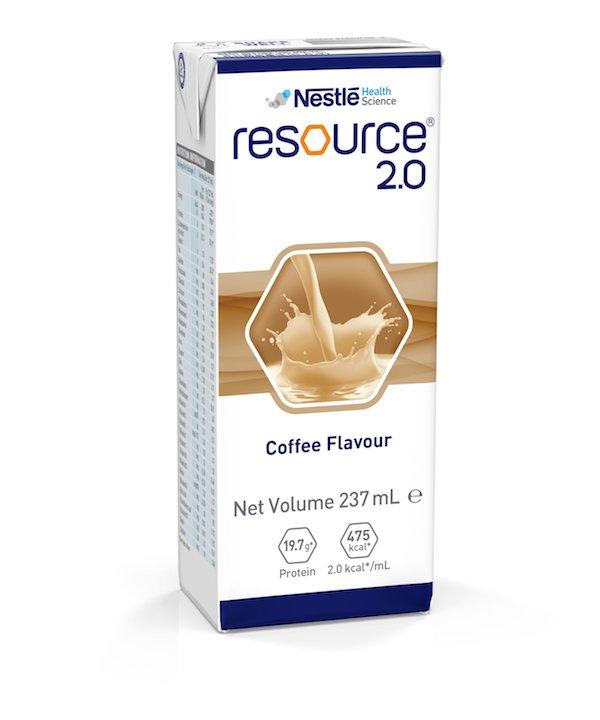 RESOURCE 2.0 COFFEE 237ML, BOX 24