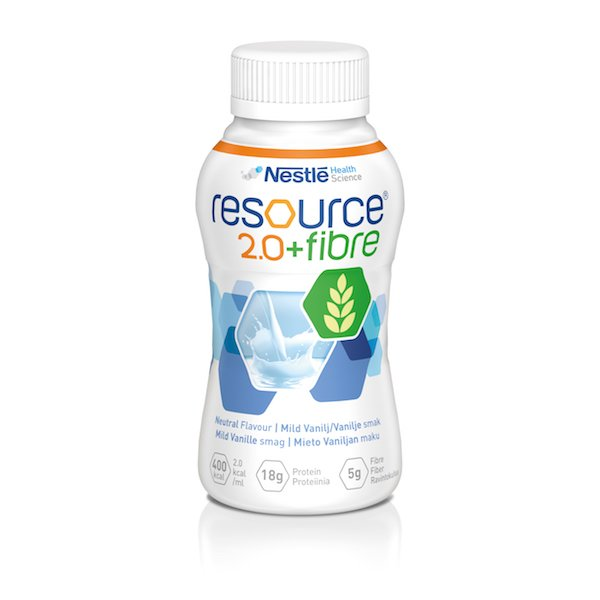 RESOURCE 2.0 FIBRE NEUTRAL 200ML, BOX 24
