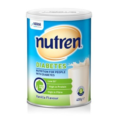 SUSTAGEN HOSPITAL ACTIVE DIABETIC VANILLA 400G POWDER, EACH