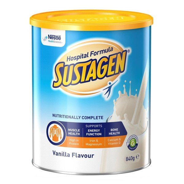 SUSTAGEN HOSPITAL ACTIVE VANILLA 840G POWDER, EACH