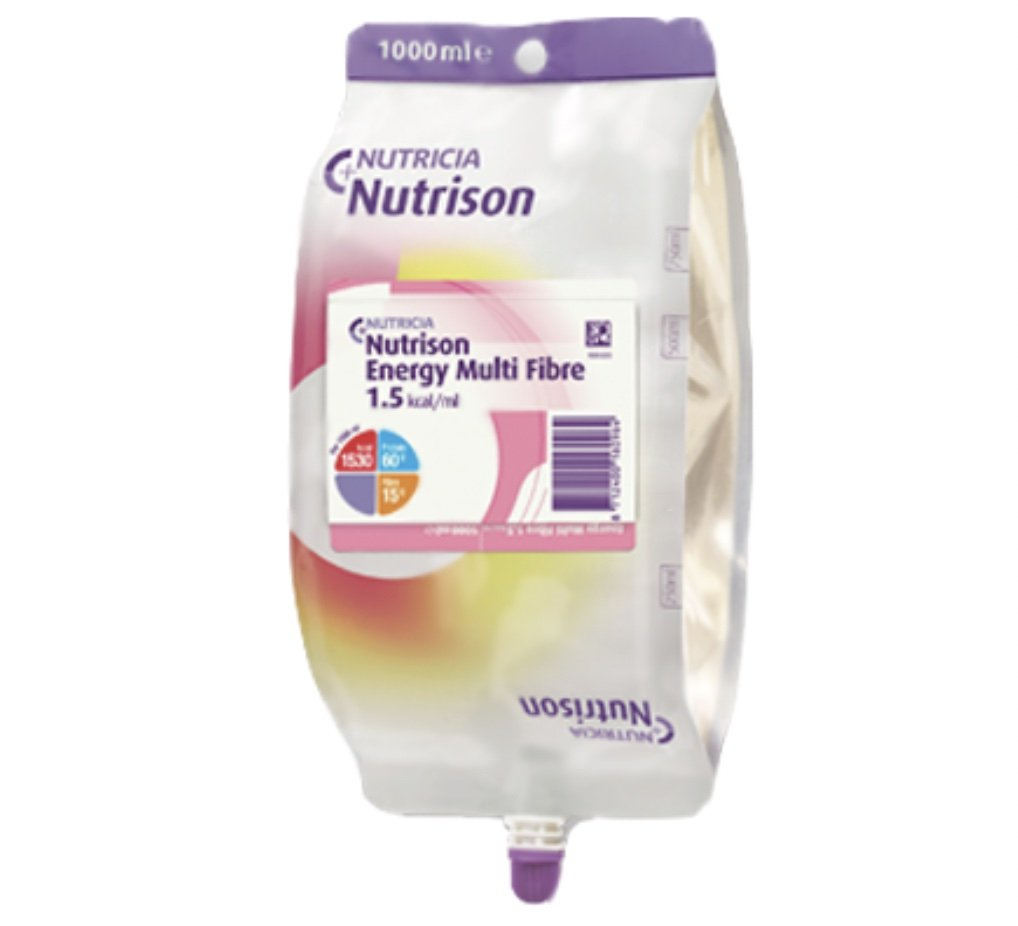 Nutrison Energy Multi Fibre 1000mL Bag Neutral, Box 8
