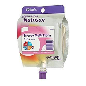 Nutrison Energy Multi Fibre 500ml Bottle Neutral, Box 12