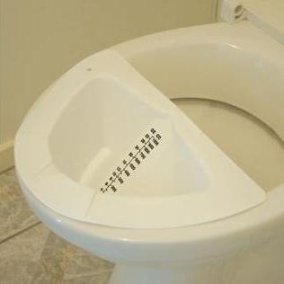 Toilet Specimen Measures (Witches Hat)