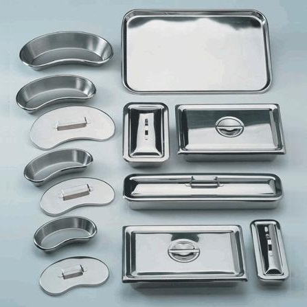 KIDNEY DISH 210MM STAINLESS STEEL, EACH