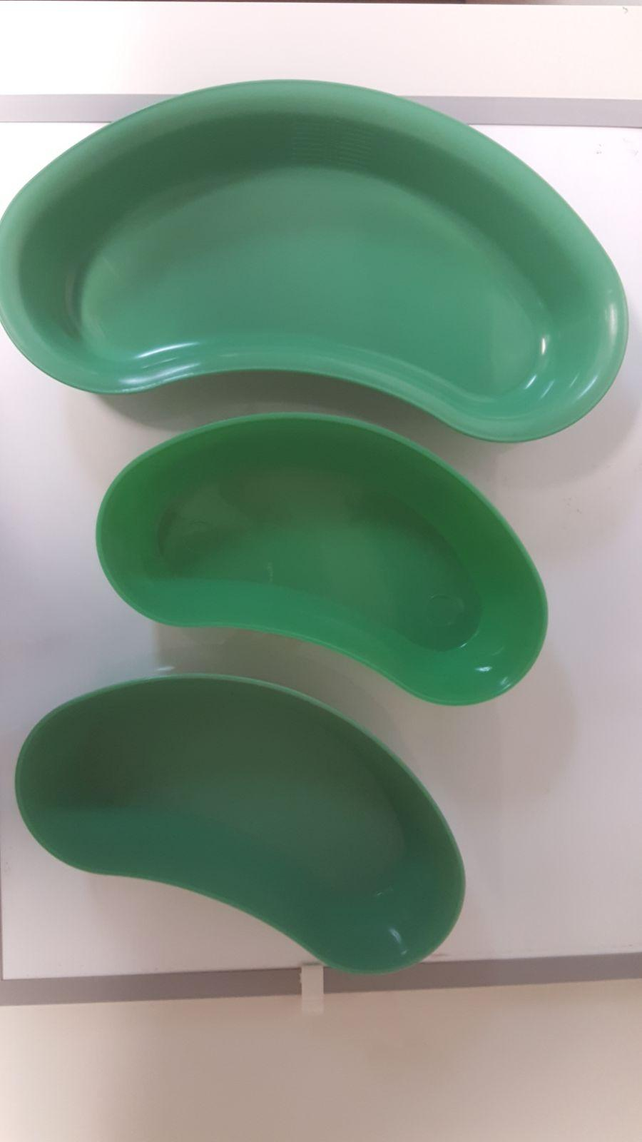 ULTRA KIDNEY DISH 225MM GREEN, EACH