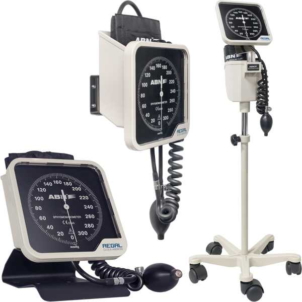 ANEROID SPHYMOMANOMETER WALL MOUNTED, EACH