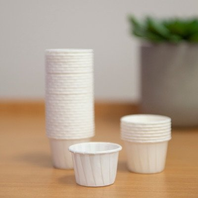 DISPOSABLE PAPER PILL CUPS 30ML, PKT 250
