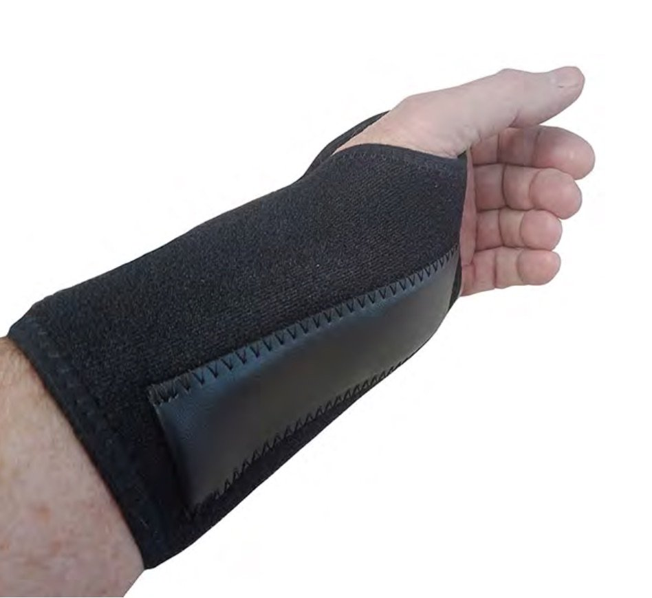 WRIST SPLINT SUPPORT RIGHT HAND (ONE SIZE FITS ALL), EACH