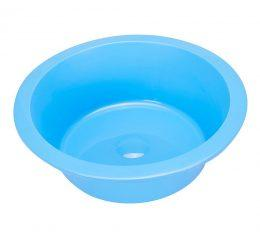 SPLASH BOWL STERILE 6L BLUE 35CM EACH