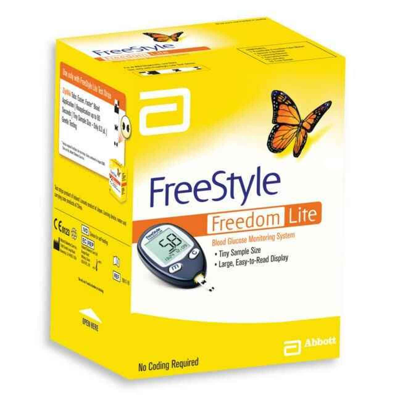 Freestyle Freedom Lite Blood Clucose Monintoring System, Each