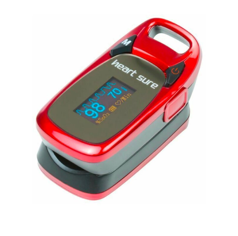 HEARTSURE FINGERTIP PULSE OXIMETER, EACH
