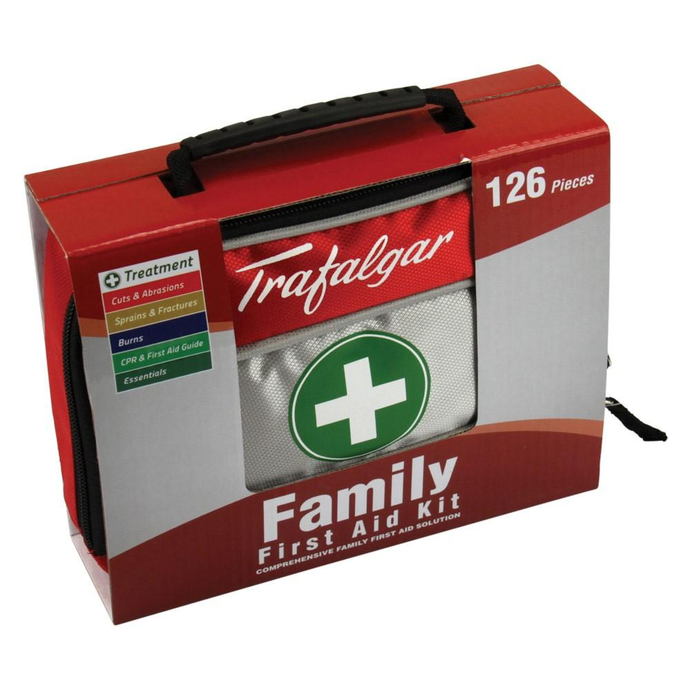 FAMILY FIRST AID KIT 126PC, EACH