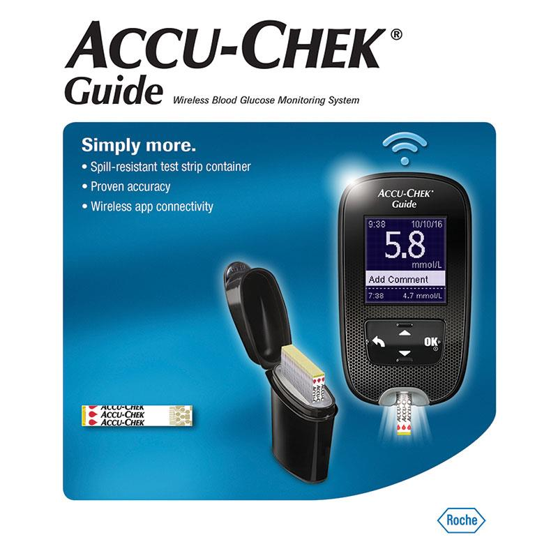 ACCU-CHEK GUIDE METER KIT, Each