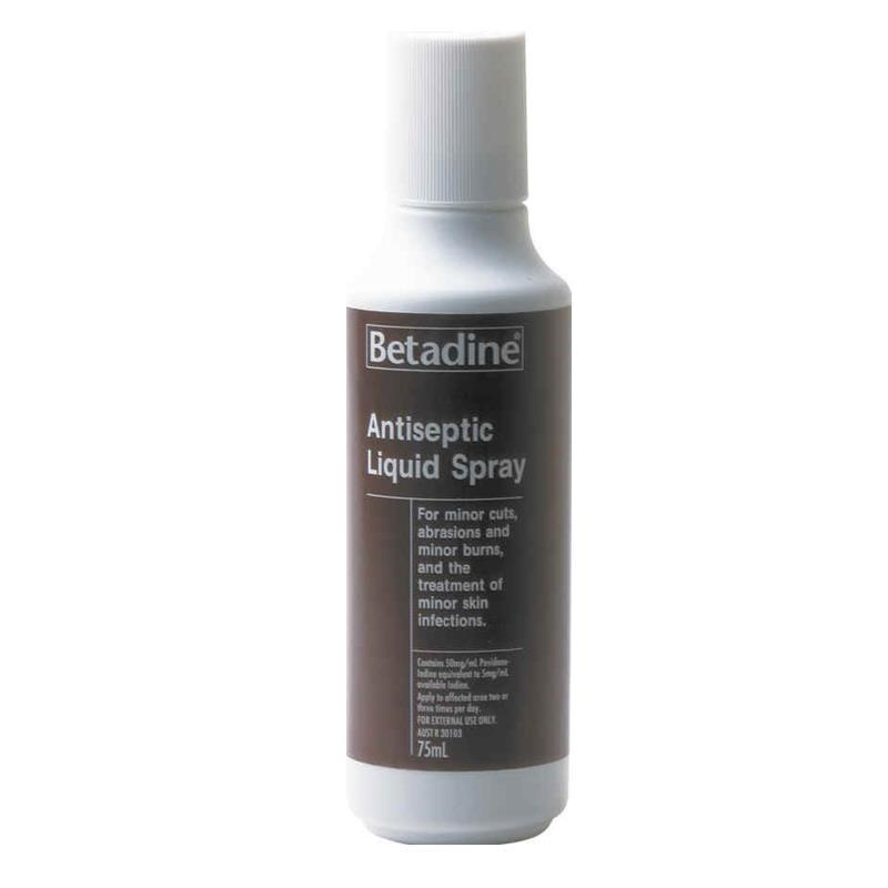 Betadine Antiseptic Spray 75mL