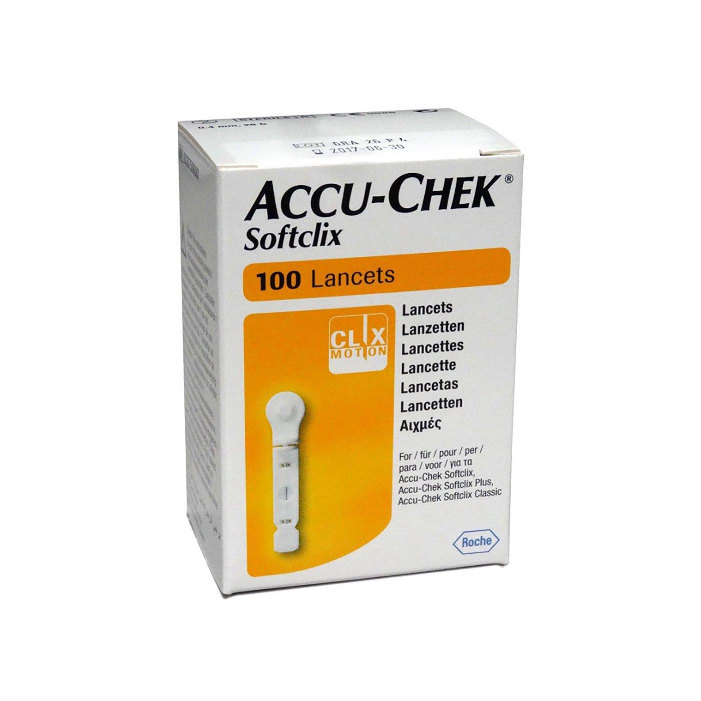 Accu-Chek Softclix Lancets, Box 200