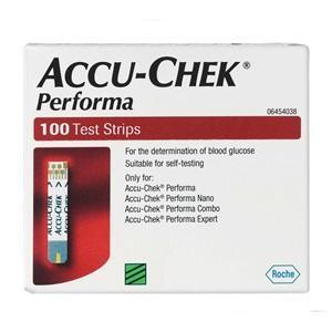 ACCU-CHEK PERFORMA STRIPS, BOX 100